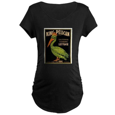 King Pelican Maternity Dark T-Shirt
