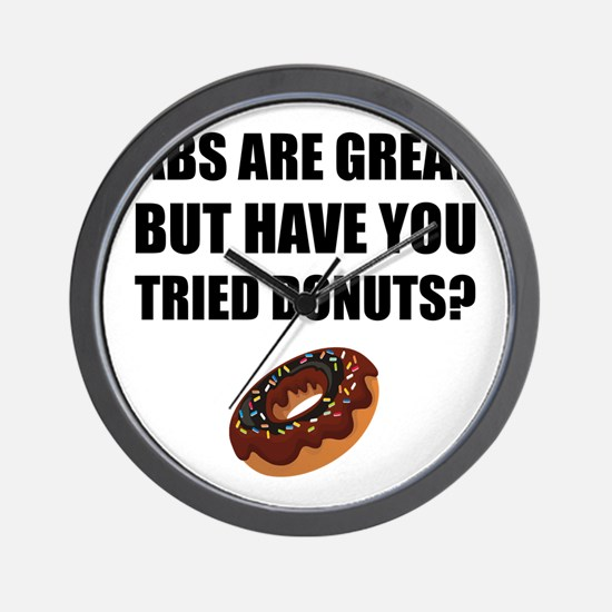 ABS Great Tried Donuts Wall Clock