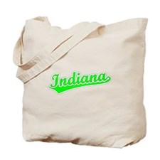 Retro Indiana (Green) Tote Bag
