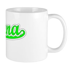Retro Indiana (Green) Small Mug
