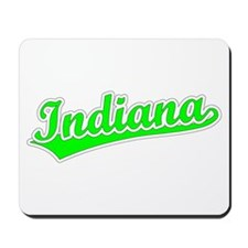 Retro Indiana (Green) Mousepad