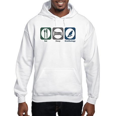 Eat Sleep Ornithology Hooded Sweatshirt