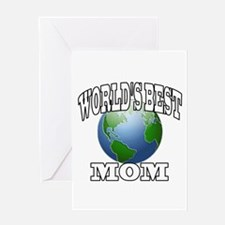 WORLD'S BEST MOM Greeting Card