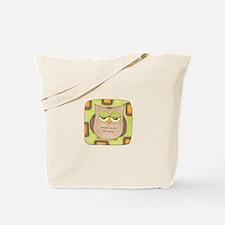 Owl 8/Mod Owl Tote Bag
