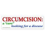 """""""Cure looking"""" (wt) bumpersticker"""