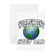 WORLD'S BEST STEP DAD Greeting Card