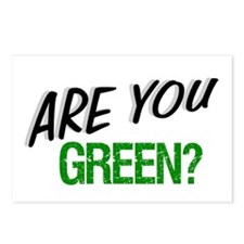 """""""Are You Green?"""" Postcards (Package of 8)"""