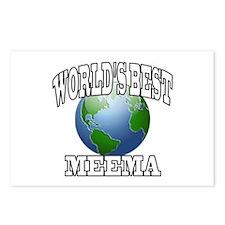 WORLD'S BEST MEEMA Postcards (Package of 8)