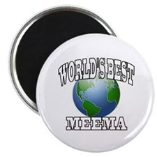 WORLD'S BEST MEEMA Magnet