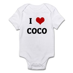I Love COCO Infant Bodysuit