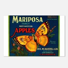 Mariposa Postcards (Package of 8)