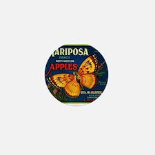 Mariposa Mini Button