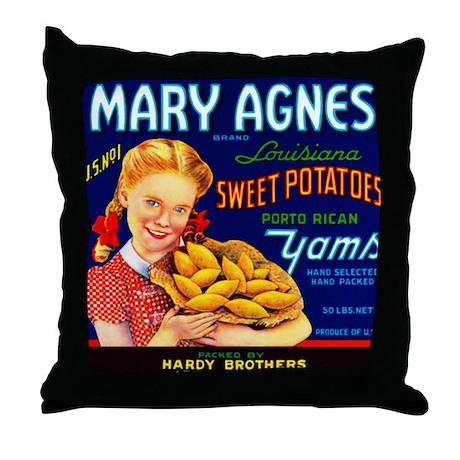 Mary Agnes Throw Pillow
