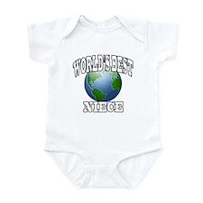 WORLD'S BEST NIECE Infant Bodysuit