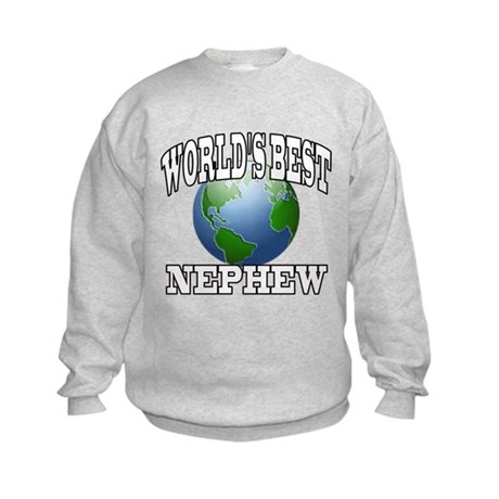 WORLD'S BEST NEPHEW Kids Sweatshirt