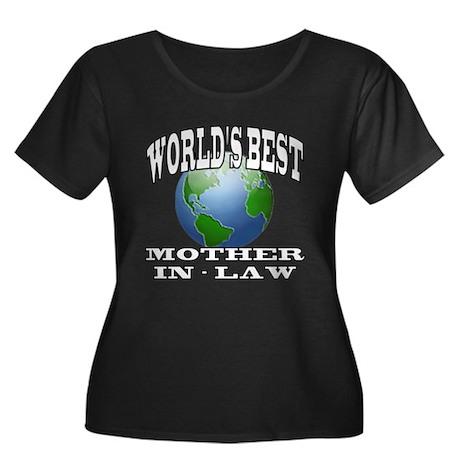 WORLD'S BEST MOTHER-IN-LAW Women's Plus Size Scoop