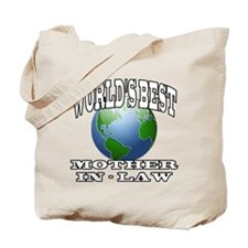 WORLD'S BEST MOTHER-IN-LAW Tote Bag
