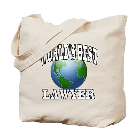 WORLD'S BEST LAWYER Tote Bag