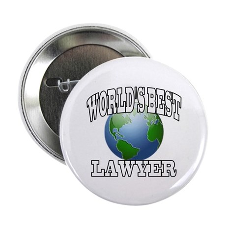 "WORLD'S BEST LAWYER 2.25"" Button"