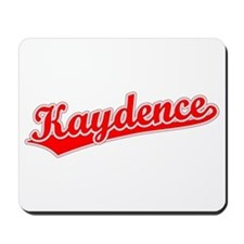Retro Kaydence (Red) Mousepad