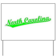 Retro North Carolina (Green) Yard Sign