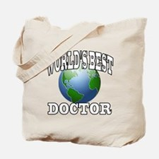 WORLD'S BEST DOCTOR Tote Bag