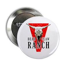 "Bear Claw Ranch 2.25"" Button"