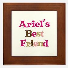Ariel's Best Friend Framed Tile
