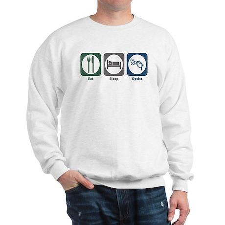Eat Sleep Optics Sweatshirt