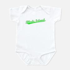Retro Rhode Island (Green) Infant Bodysuit