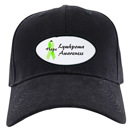 Lymphoma Awareness Black Cap