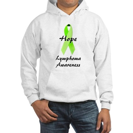 Lymphoma Awareness Hooded Sweatshirt