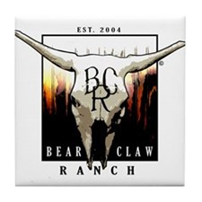 Bear Claw Ranch Tile Coaster