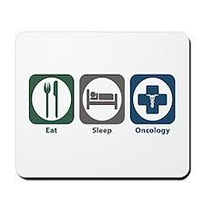 Eat Sleep Oncology Mousepad