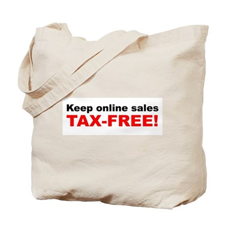 Keep Online Sales Tax-Free Tote Bag
