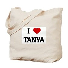 I Love TANYA Tote Bag