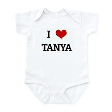 I Love TANYA Infant Bodysuit