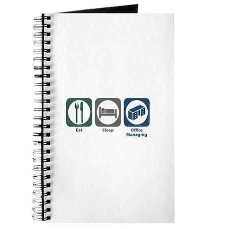 Eat Sleep Office Managing Journal