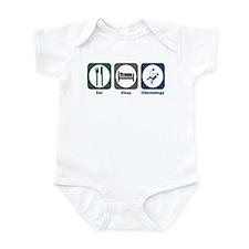 Eat Sleep Odontology Infant Bodysuit