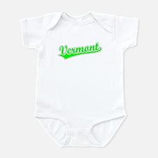 Retro Vermont (Green) Infant Bodysuit