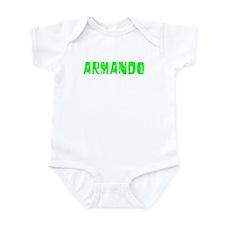 Armando Faded (Green) Infant Bodysuit
