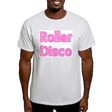 Roller Disco Ash Grey T-Shirt
