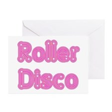 Roller Disco Greeting Cards (Pk of 10)