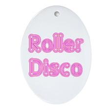 Roller Disco Keepsake (Oval)
