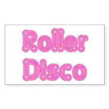 Roller Disco Rectangle Decal