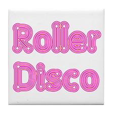Roller Disco Tile Coaster