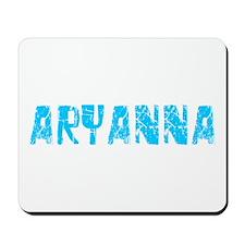 Aryanna Faded (Blue) Mousepad