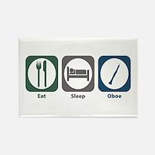 Eat Sleep Oboe Rectangle Magnet