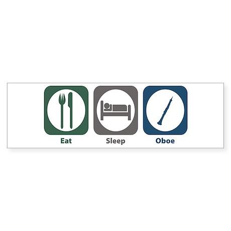 Eat Sleep Oboe Bumper Sticker