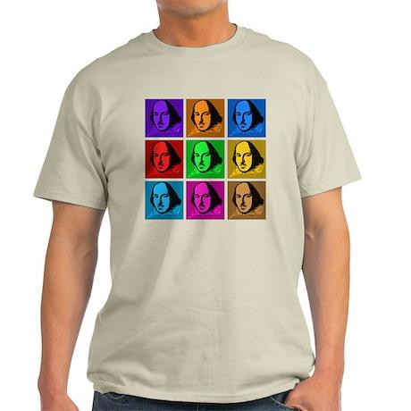 Pop Art Shakespeare Light T-Shirt